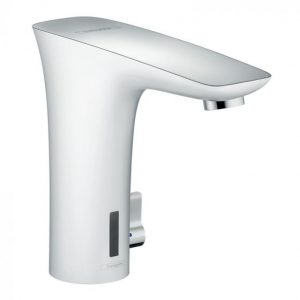 Hansgrohe Puravida Electronic Basin Mixer Tap With Temperature Control And Battery-Operated