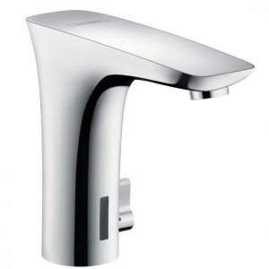 Hansgrohe Puravida Electronic Basin Mixer Tap With Temperature Control And Mains Connection 230 V