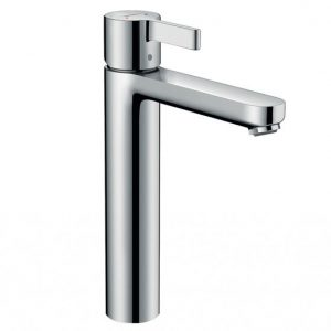 Hansgrohe Metris S Single Lever Basin Mixer Tap with Pop-Up Waste