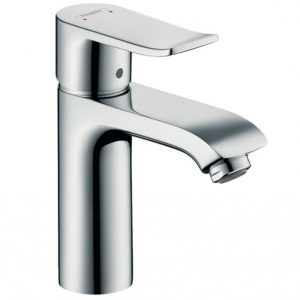 Hansgrohe Metris Single Lever Basin Mixer Tap 110 Without Waste