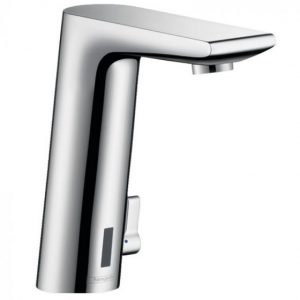 Hansgrohe Metris S Electronic Basin Mixer Tap With Temperature Control And Battery-Operated