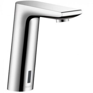Hansgrohe Metris S Electronic Basin Mixer Tap With Temperature Pre-Adjustment And Battery Operated