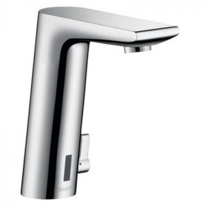 Hansgrohe Metris S Electronic Basin Mixer Tap With Temperature Control And Mains Connection 230 V