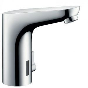 Hansgrohe Focus Electronic Basin Mixer Tap With Temperature Control And Battery-Operated