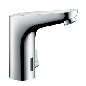 Hansgrohe Focus Electronic Basin Mixer Tap With Temperature Control And Mains Connection 230 V