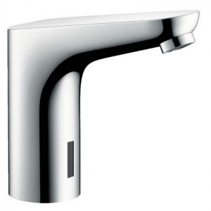 Hansgrohe Focus Electronic Basin Mixer Tap With Temperature Pre-Adjustment And Mains Connections 230 V