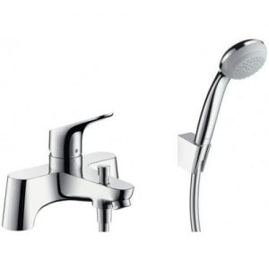 Hansgrohe Focus 2 tap hole Deck Mounted Bath Tap manual bath mixer Chrome