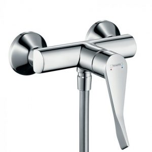 Hansgrohe Focus Single Lever Manual Shower Mixer For Exposed Installation with Extra Long Handle