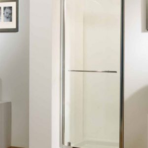 Kudos Original Bowed Pivot Shower Door 900mm Wide