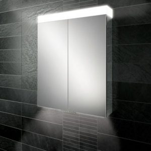 HiB Apex 60 Illuminated mirror Cabinet – 600mm Wide