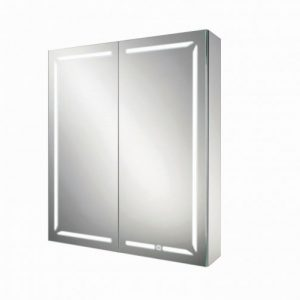 HiB Groove 60 Illuminated mirror Cabinet – 600mm Wide
