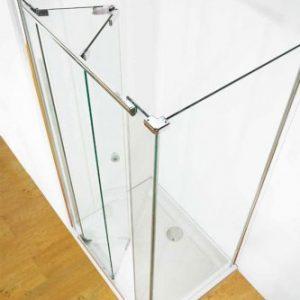 Kudos Infinite Semi-frameless Bi-fold Door 1000mm Wide