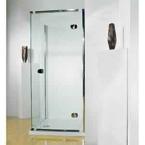 Kudos Infinite Semi-frameless Right Hand Hinged Shower Door 1000mm