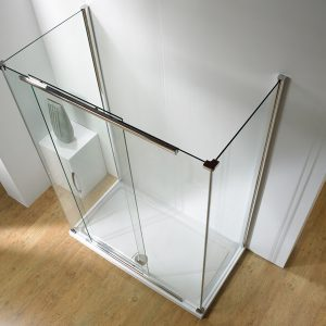 Kudos Infinite Straight Slider Shower Door 1200mm