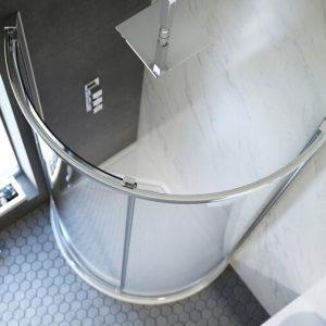 Kudos Original6 Offset Offset Quadrant Sliding Enclosure Side Access 1000 x 810mm