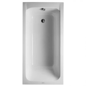 Duravit D-Code Bath With Feet – 1500mm x 750mm – White Alpin