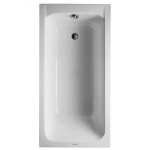 Duravit D-Code Bath With Feet – 1600mm x 700mm – White Alpin