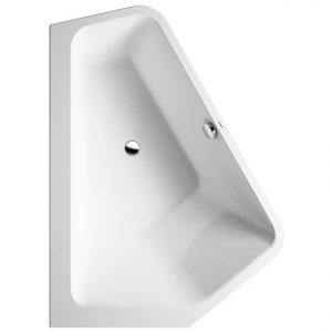 Duravit Paiova 5 Left corner Bath – 1770mm x 1300mm -White Alpin