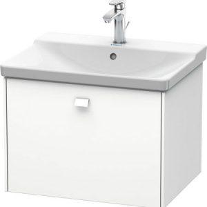 Duravit Brioso 1 Drawer Vanity Unit With Basin – 650mm – No TH – White Matt