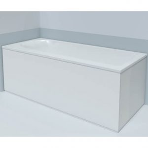 Duravit Dura Style left corner Bath Panel – 1700mm x 700mm – White