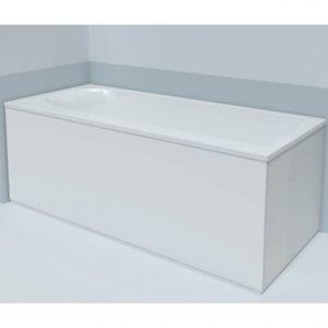 Duravit Dura Style left corner Bath Panel – 1690mm x 740mm – White