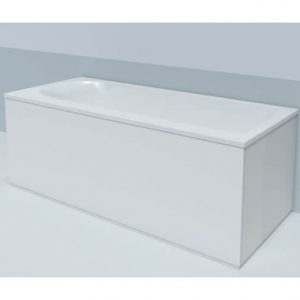 Duravit Dura Style Back To Wall Bath Panel – 1690mm x 740mm – White