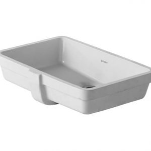 Duravit Vero Air Pro Undercounter Basin With Overflow- 485mm Wide – No Tap Hole – White