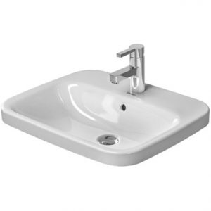 Duravit Durastyle Countertop Basin With Overflow – 560mm Wide – 1 Tap Hole – White