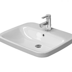 Duravit Durastyle Countertop Basin With Overflow – 615mm Wide – 1 Tap Hole – White