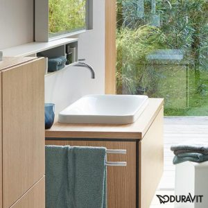Duravit P3 Comforts Countertop Basin With Overflow – 550mm Wide – No Tap Hole – White