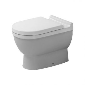 Duravit Stark 3 Washdown Back To Wall Toilet With Soft Close Seat – Hygiene Glaze