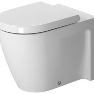 Duravit Stark 2 Back To Wall Toilet With Soft Close Seat – White