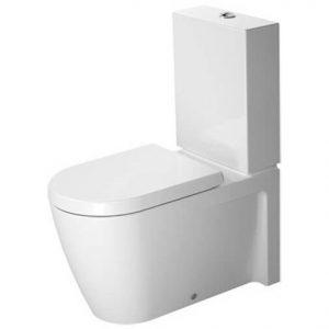 Duravit Stark 2 Close Coupled Toilet With Soft Close Seat And Dual Flush Cistern – White