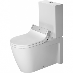 Duravit Stark 2 Sensowash Close Coupled Toilet With Cistern And Seat – White