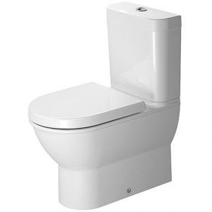 Duravit Darling New Close Coupled Toilet With Cistern And Soft Close Seat – White
