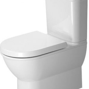 Duravit Darling New Washdown Close to Wall Toilet With Cistern And Soft Close Seat – White