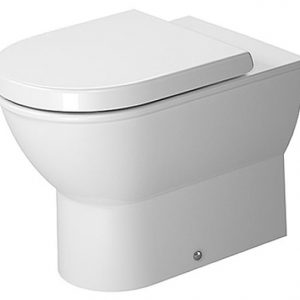 Duravit Darling New Back to Wall Toilet With Soft Close Seat – White