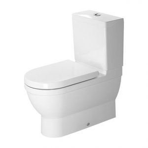 Duravit Stark 3 Close Coupled Toilet With Soft Close Seat And Dual Flush Cistern Hygiene Glaze