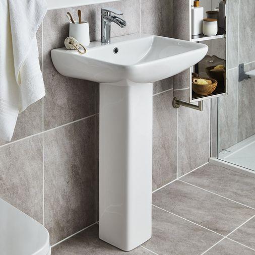 Shop Full Pedestal Basins Online Uk