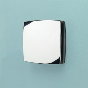 Hib Breeze Wall Mounted TH Fan – 152mm Wide – Chrome