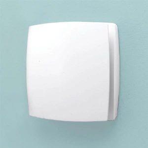 Hib Breeze Wall Mounted SELV Fan – 152mm Wide – White