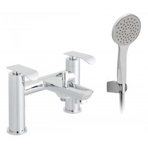 Vado Kovera Bath Shower Mixer Tap With Shower Kit Chrome