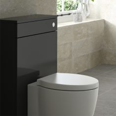 HiB Back To Wall WC Unit – 500mm Wide – Anthracite