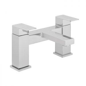 Hib Decca Bath Filler Taps – 142mm High – Chrome