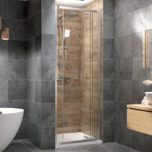 Kudos Pinnacle8 800mm Side Panel To Use In Centre Fold Shower Door