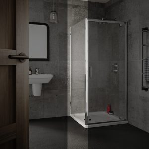 Sommer 6 Shower Door Side Panel – 900mm Wide – 6mm Glass