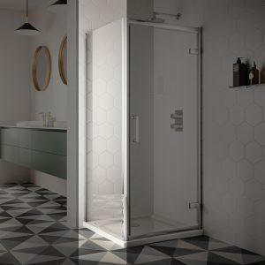 Sommer 8 Shower Door Side Panel – 900mm Wide – 8mm Glass