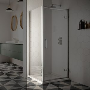 Sommer 8 Shower Door Side Panel – 760mm Wide – 8mm Glass