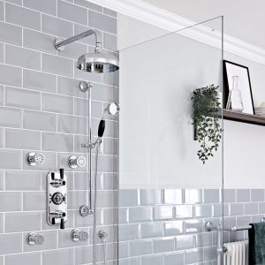 Shower Heads and Riser Rails