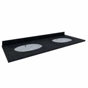 RAK Washington 1200mm Splashback with Countertop  – Black